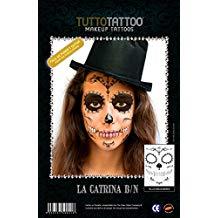 tatuajes temporales de catrina