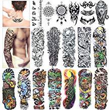 tatuajes temporales adhesivos